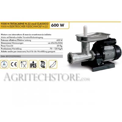 Maszynka do mielenia mięsa elektryczna 9500 N MINCER mod 22 KLASYCZNA