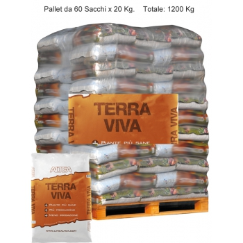 Paleta TERRA VIVA Organic Matter + grzyby mikoryzowe kg. 20
