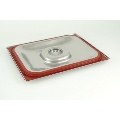 Pokrywa ze stali nierdzewnej do 1/2 GASTRONORM gotowanie próżniowe