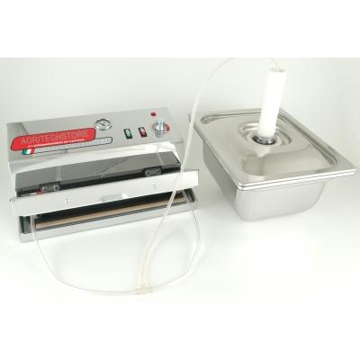 """Kompletne urządzenie do gotowania próżniowego """"S&W Vacuum Box Agritech Allhadin"""""""
