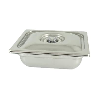 Zbiornik z pokrywą do gotowania próżniowego S&W BS12150+CAS12000