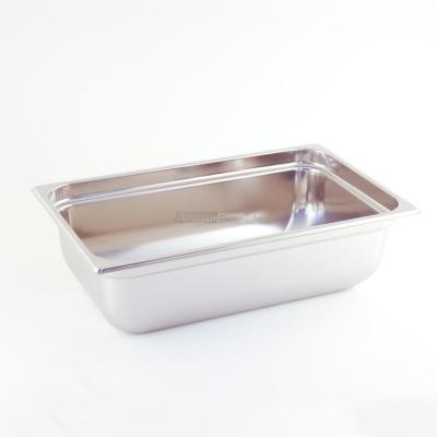 Zbiornik Gastronorm ze stali nierdzewnej 1/1 H 150